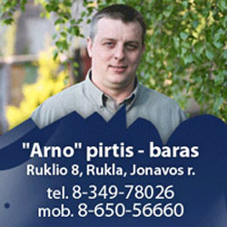 Arno baras - pirtis, banketinė salė, apgyvendinimas Rukloje
