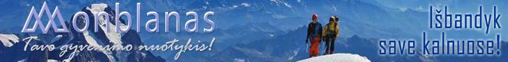 Kopimas į Monblaną - Tavo gyvenimo nuotykis!