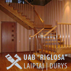 UAB Riglosa | Laiptai, durys