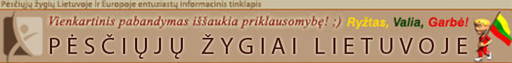 Pėsčiųjų žygiai Lietuvoje